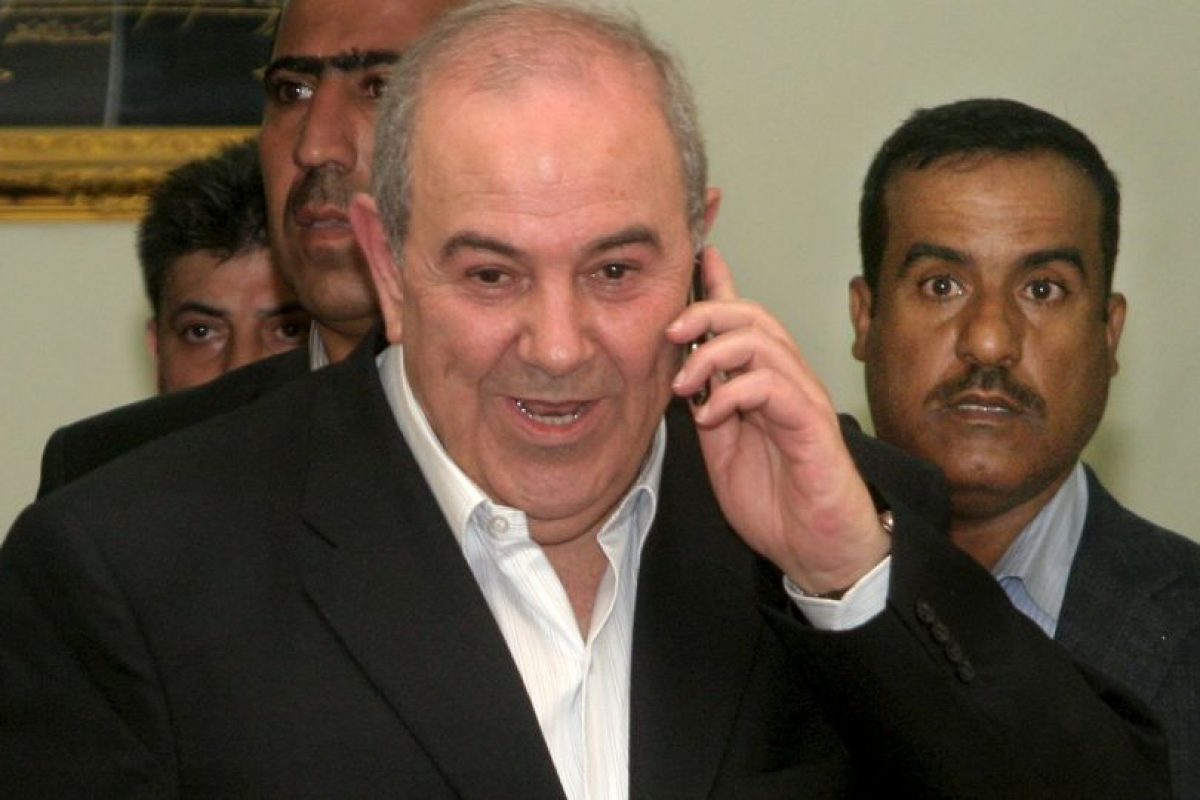 Ayad Allawi, exprimer ministro de Iraq. Foto:Getty Images. Imagen Por: