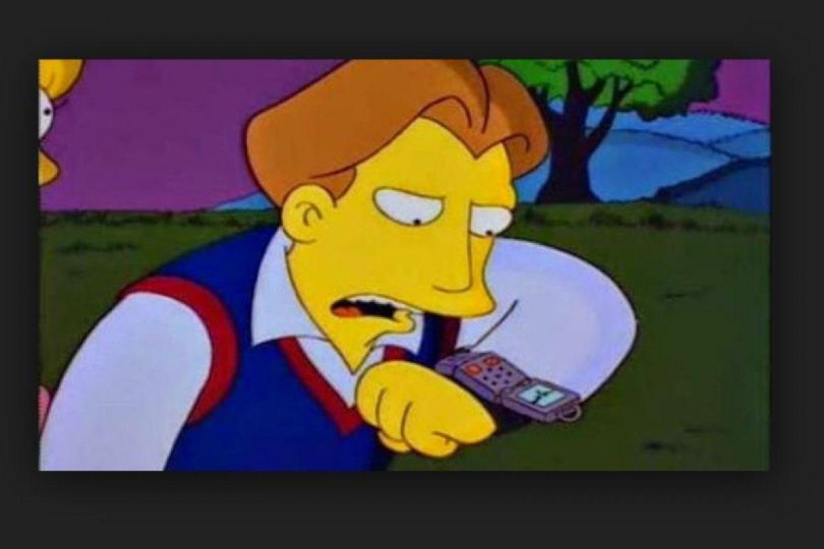 """En 1995, en el episodio """"La boda de Lisa"""", su prometido hace una llamada a través de su reloj. Ahora la gente goza de estos beneficios. Foto:Fox. Imagen Por:"""