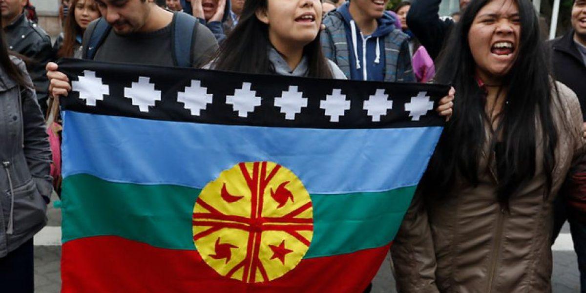 Temuco: realizan marcha en apoyo a  detenidos por caso Luchsinger-Mackay