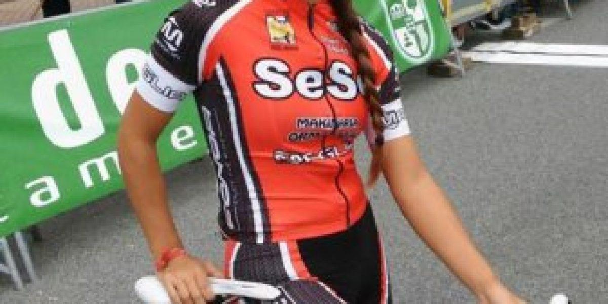 Vale Monsalve debutó en Copa España de ciclismo: