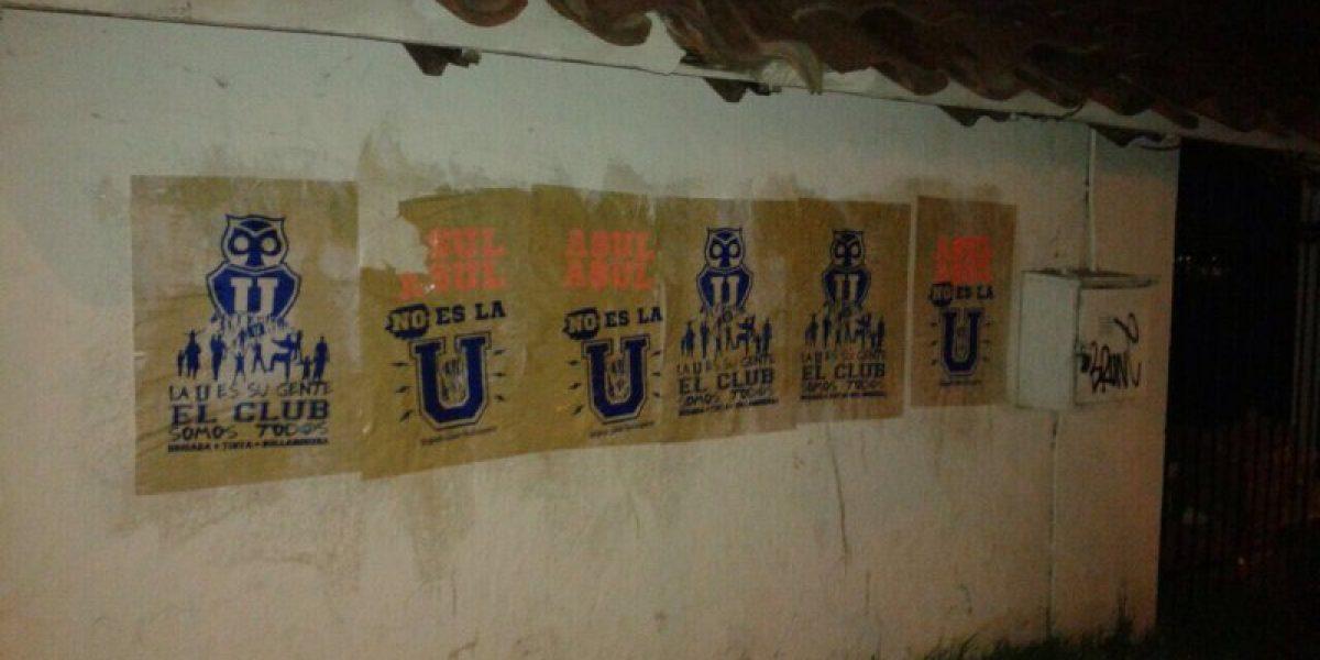 Quiebre total: Hinchas de la U exigen el fin de Azul Azul con rayados en el CDA