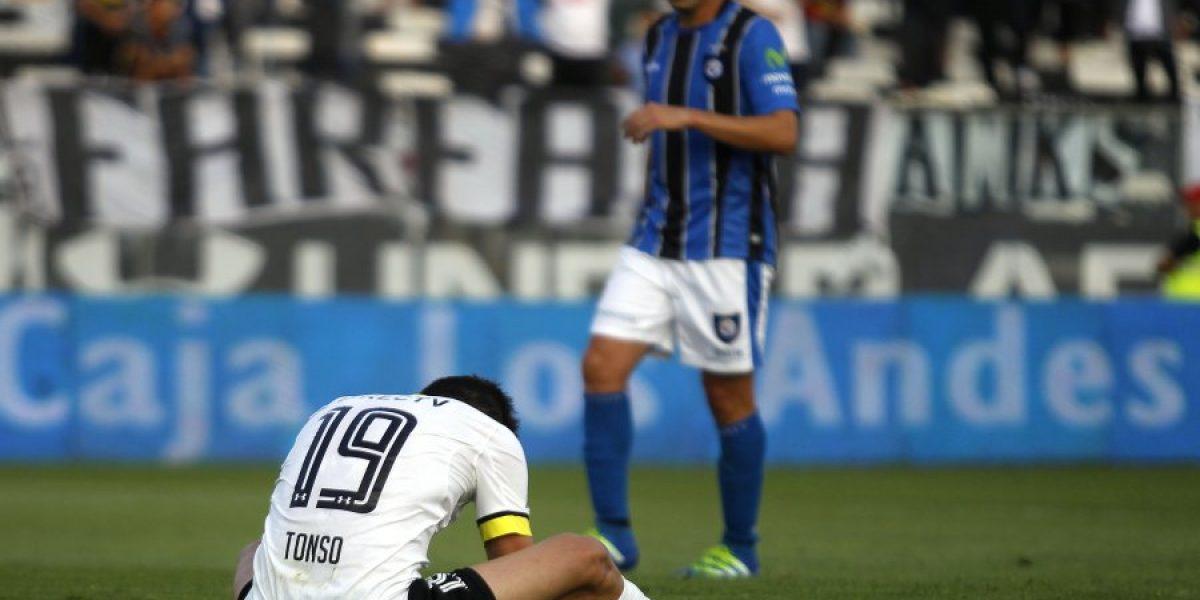 Martín Tonso recibe una fecha de castigo y se pierde el partido con O