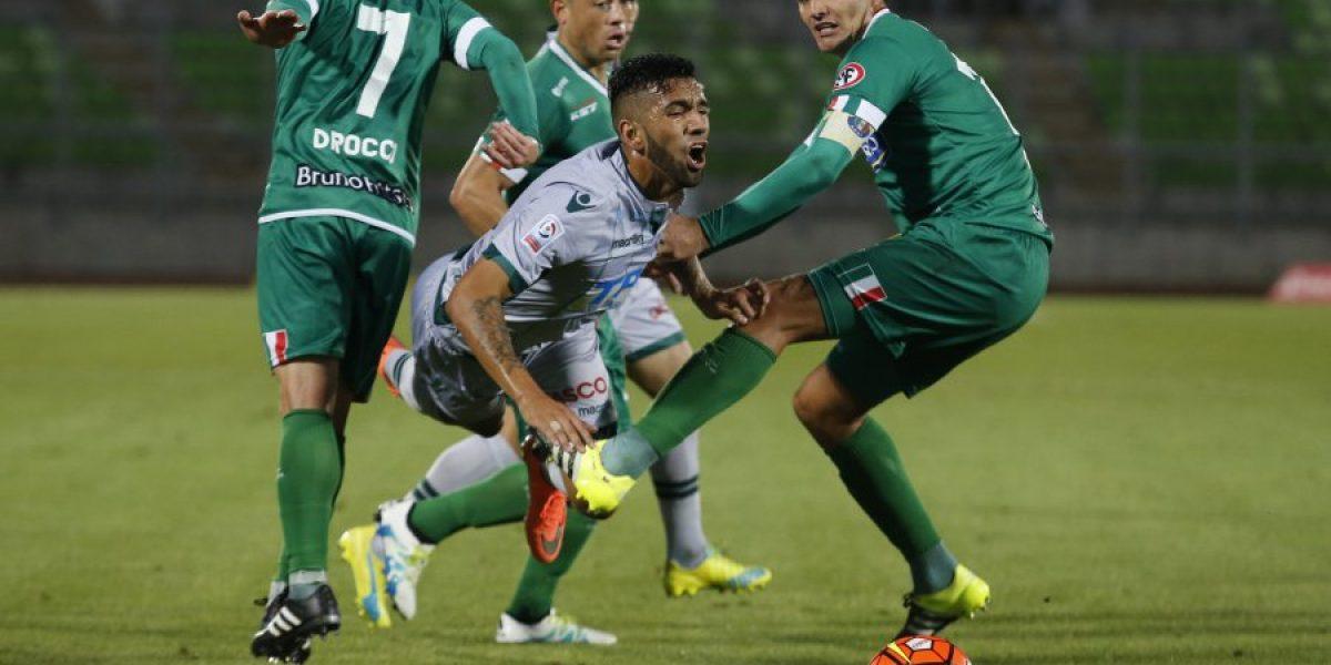 Santiago Wanderers dejó escapar la opción de ser líder e igualó ante Audax Italiano