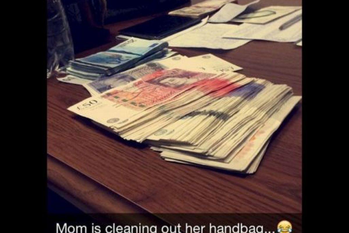 Cantidades grandes de dinero en efectivo Foto:instagram.com/richkidslondon/. Imagen Por: