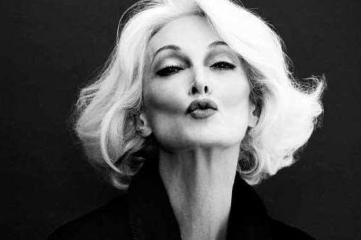 Carmen Dell' Orefice es una de las modelos más veteranas del mundo. Está en el trabajo desde la década del 50. Foto:vía Facebook. Imagen Por:
