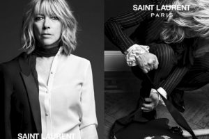 Jonni Mitchel para Saint Laurent. Foto:vía Saint Laurent. Imagen Por: