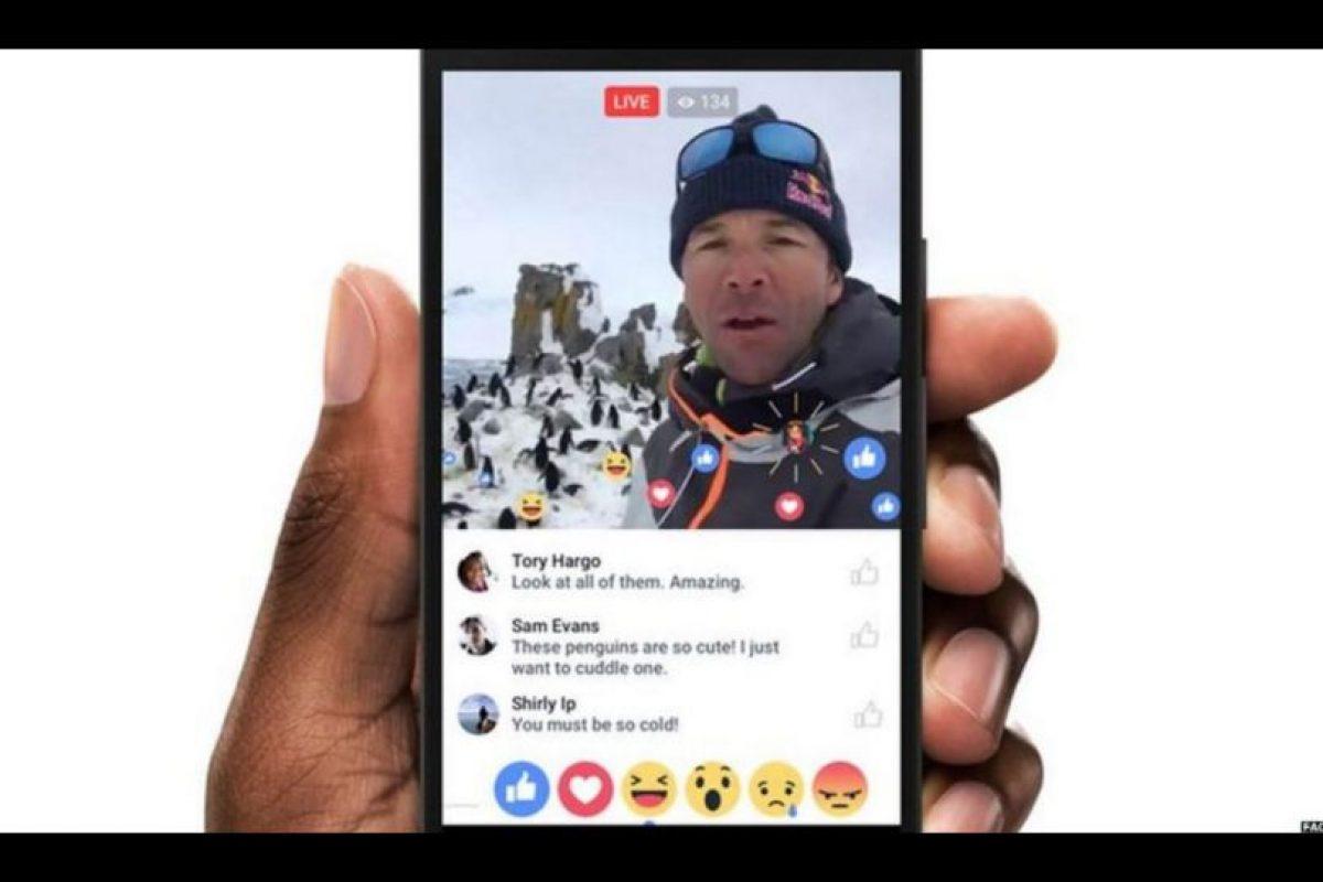 En un principio, Facebook Live sólo se encontraba disponible para famosos. Foto:Facebook. Imagen Por: