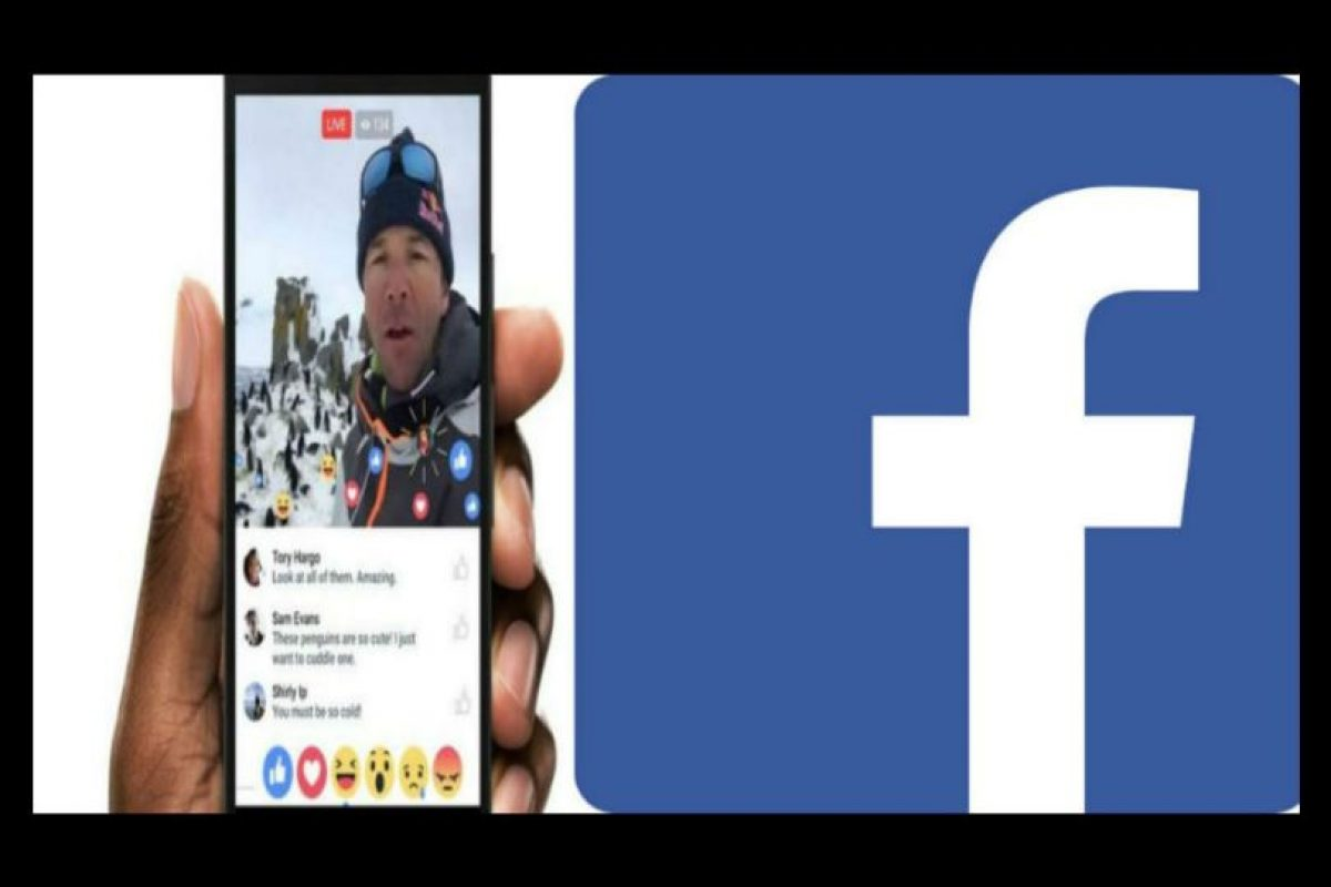 Hoy se lanzará la nueva versión de Facebook Live. Foto:Facebook/Facebook Live. Imagen Por:
