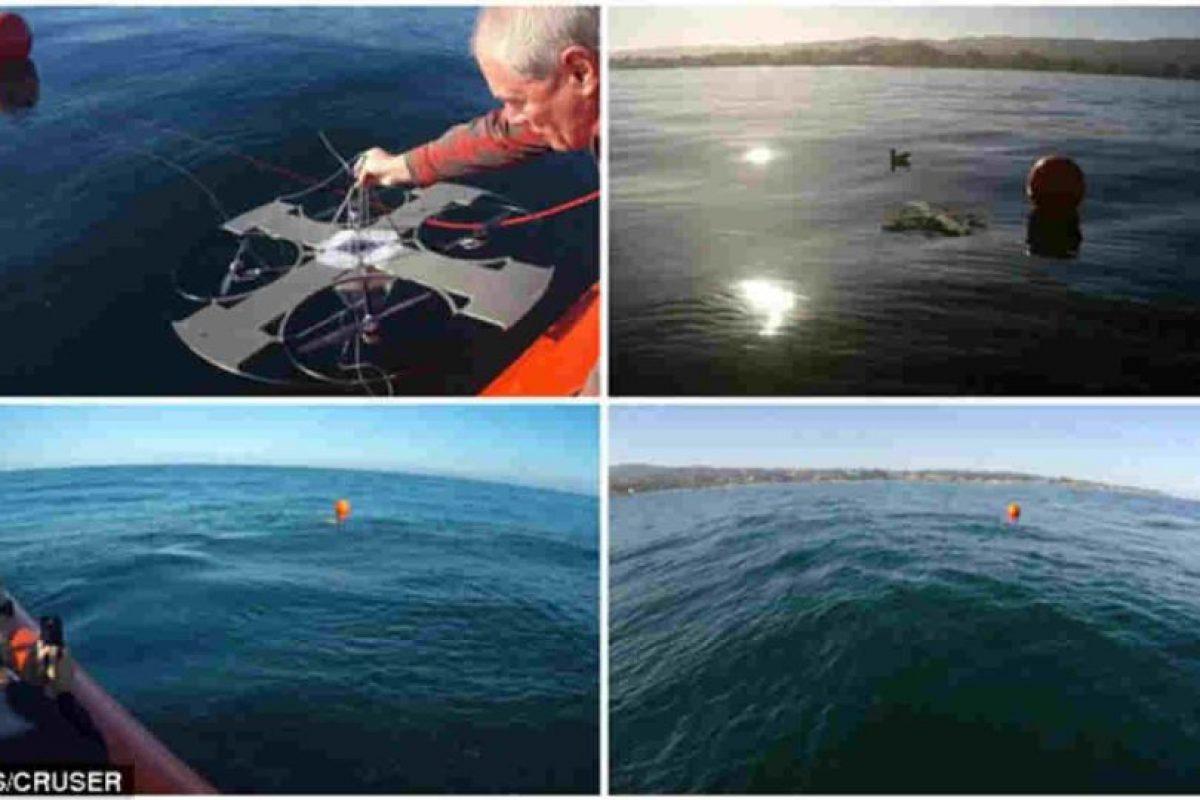Este drone es impulsado con energía solar. Foto:NPS. Imagen Por:
