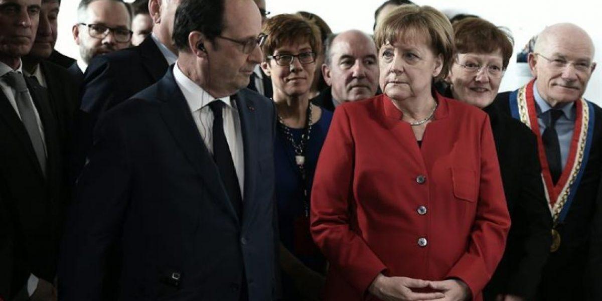 Panama Papers y los refugiados entre los temas del encuentro Hollande-Merkel