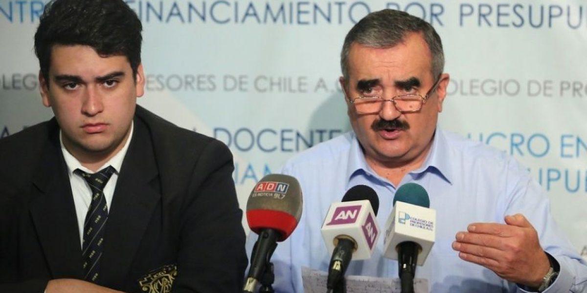 Colegio de Profesores y la Cones expresan su rechazo a las políticas de seguridad del Estado