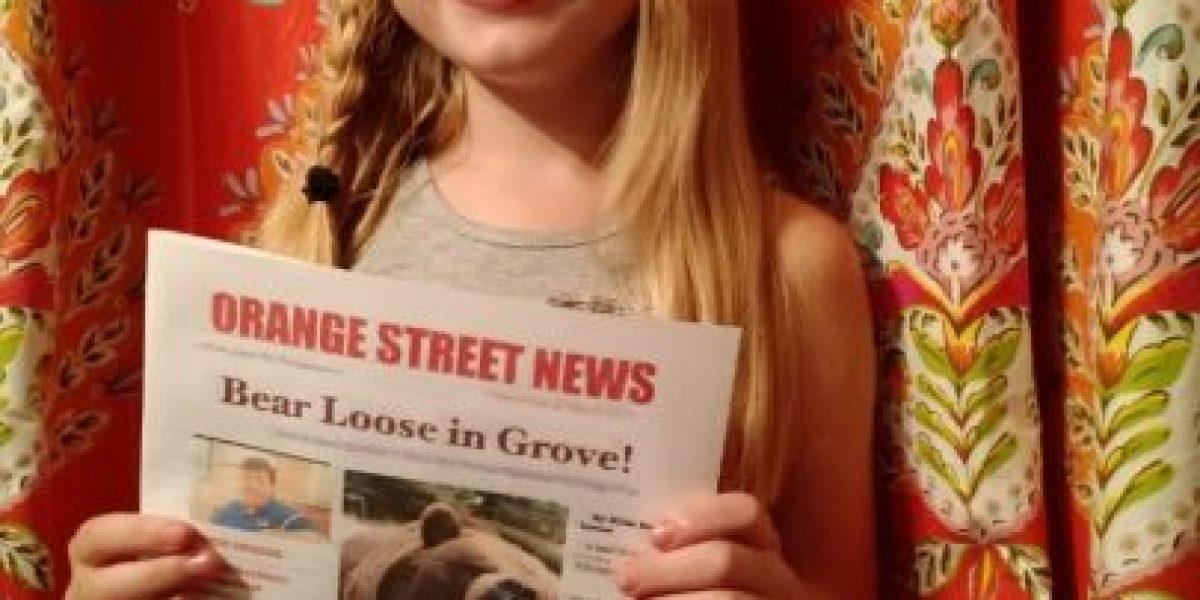 La increíble historia de una reportera de 9 años