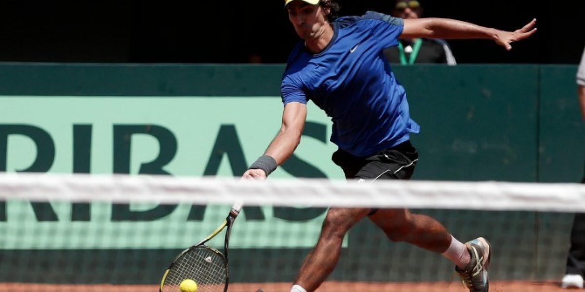 Peralta se metió en semis del dobles en el ATP de Houston tras retiro de rival