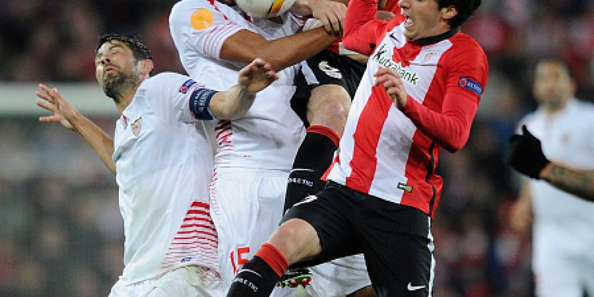 Sevilla da el primer golpe y derrota al Athletic de Bilbao en la Europa League