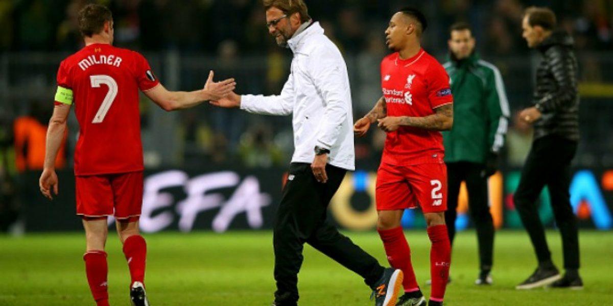 ¿Lo celebró o no lo celebró? La reacción de Jürgen Klopp tras el gol de Liverpool