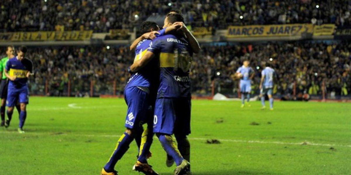 Boca Juniors logró su primera victoria en la Libertadores al superar a Bolívar