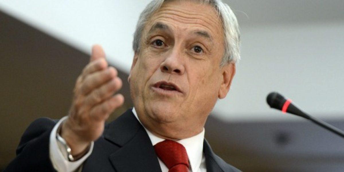 Revelan sociedades que Sebastián Piñera abrió en Panamá
