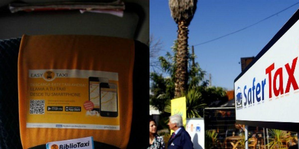 Apps de taxis se manifiestan por polémica de Uber