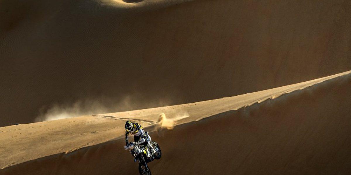 Pablo Quintanilla finalizó en el tercer lugar del rally de Abu Dhabi