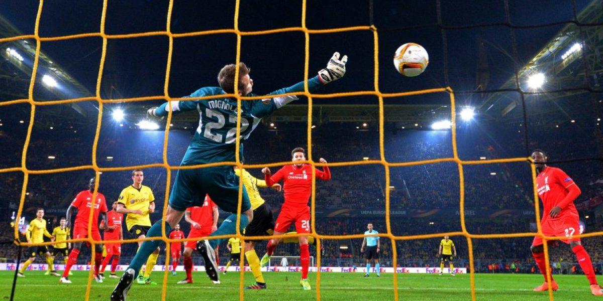 Jürgen Klopp rescató un empate junto al Liverpool en su regreso a Dortmund