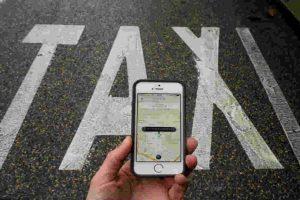 Para muchas personas, esta app sustituyó al taxi. Foto:Getty Images. Imagen Por: