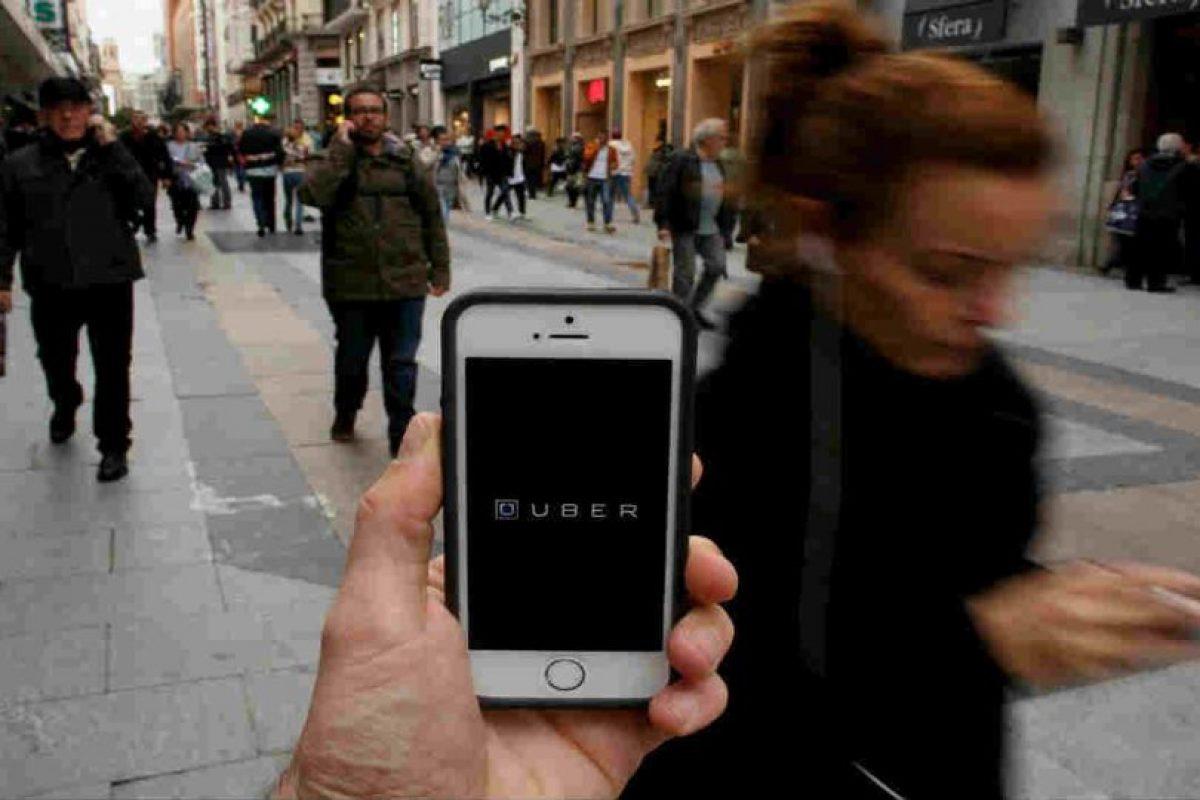 Es la aplicación líder en movilidad. Foto:Getty Images. Imagen Por: