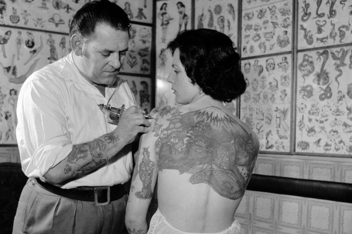 Un tatuaje es una modificación del color de la piel. Foto:Getty Images. Imagen Por: