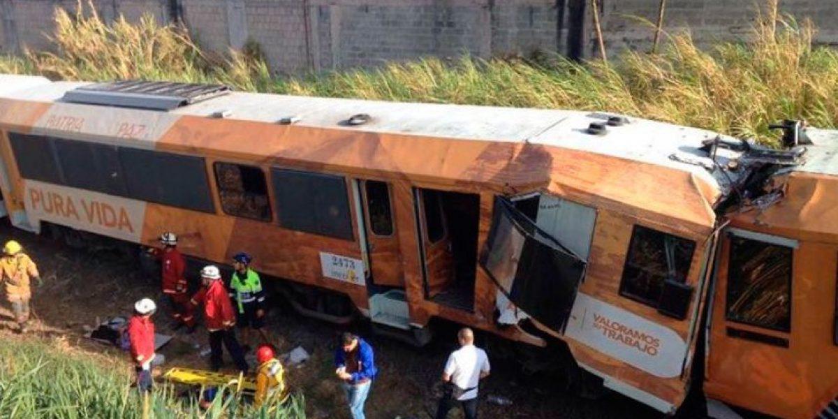 Costa Rica: Choque frontal de trenes deja 245 heridos