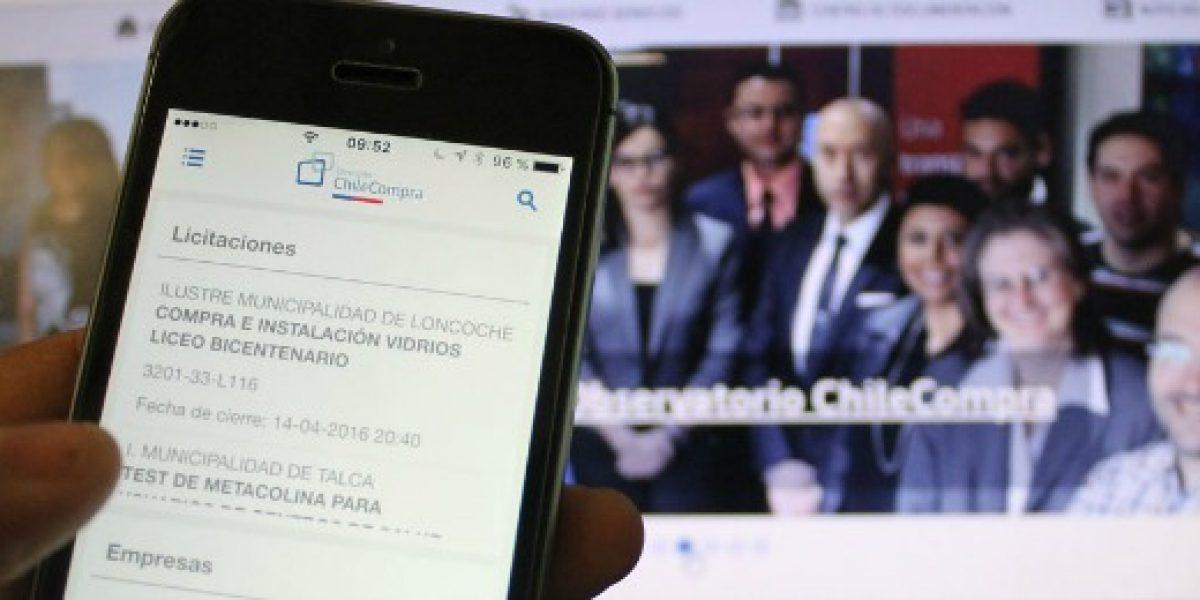 ChileCompra renueva su app para facilitar el acceso a negocios con el Estado