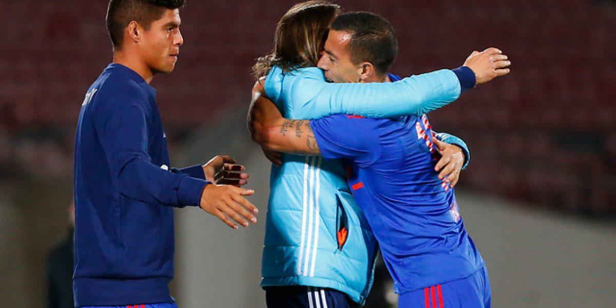 El emocionante festejo de Sebastián Ubilla tras el 1-0