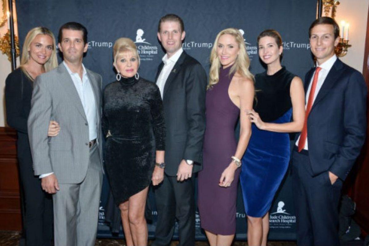 Es hija de Donald Trump e Ivana, la primera esposa del magnate. Foto:Getty Images. Imagen Por: