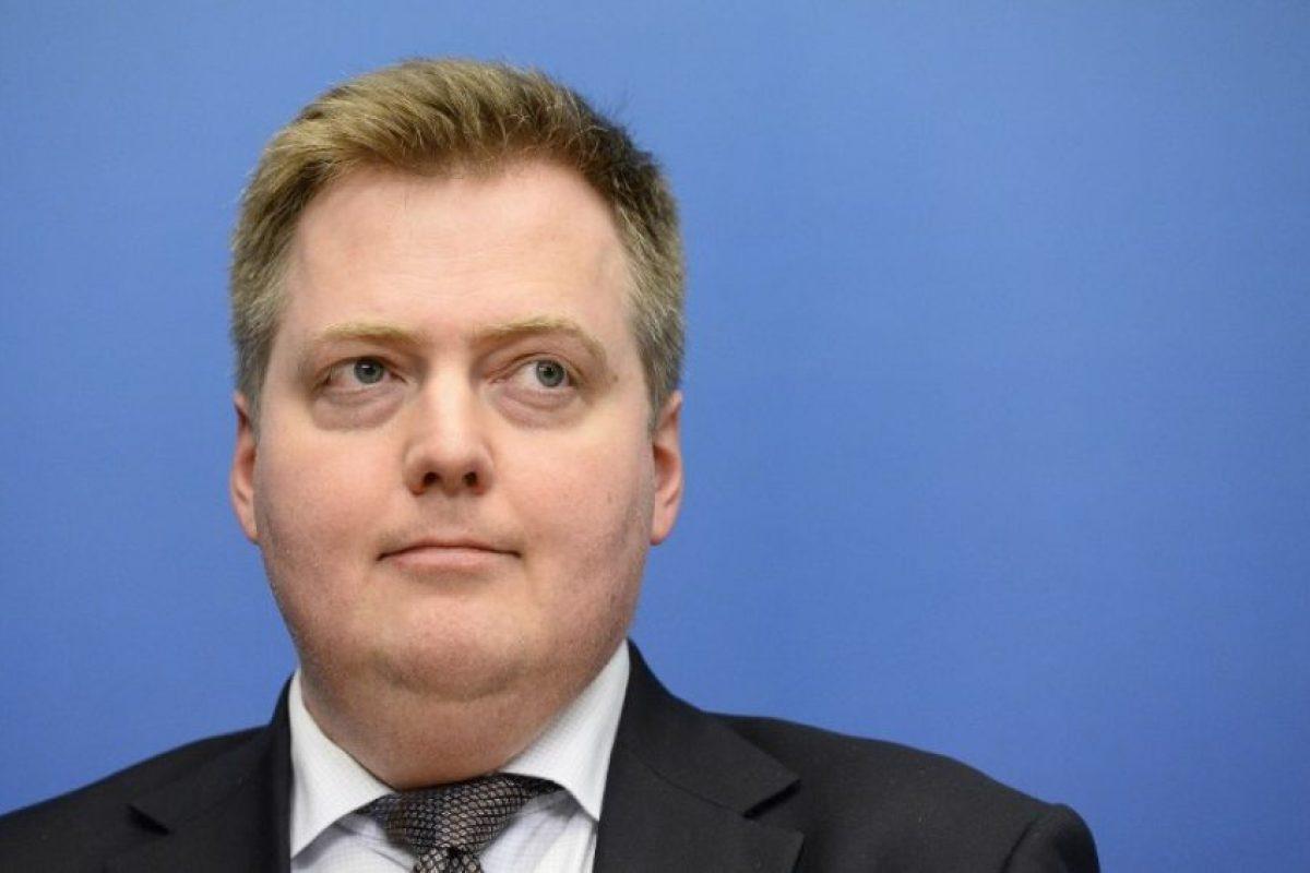 El primer ministro de Islandia tuvo que renunciar a su puesto debido a su vinculación con el caso. Foto:AFP. Imagen Por: