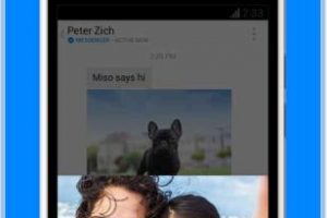 Te permite enviar fotos con más rapidez. Foto:Facebook. Imagen Por: