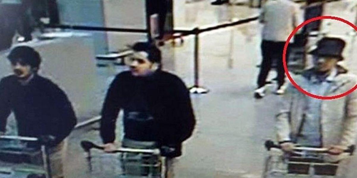 Identifican a tercer terrorista de los atentados de Bruselas