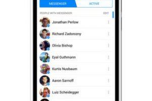 Messenger es una app independiente de la de Facebook. Foto:Facebook. Imagen Por: