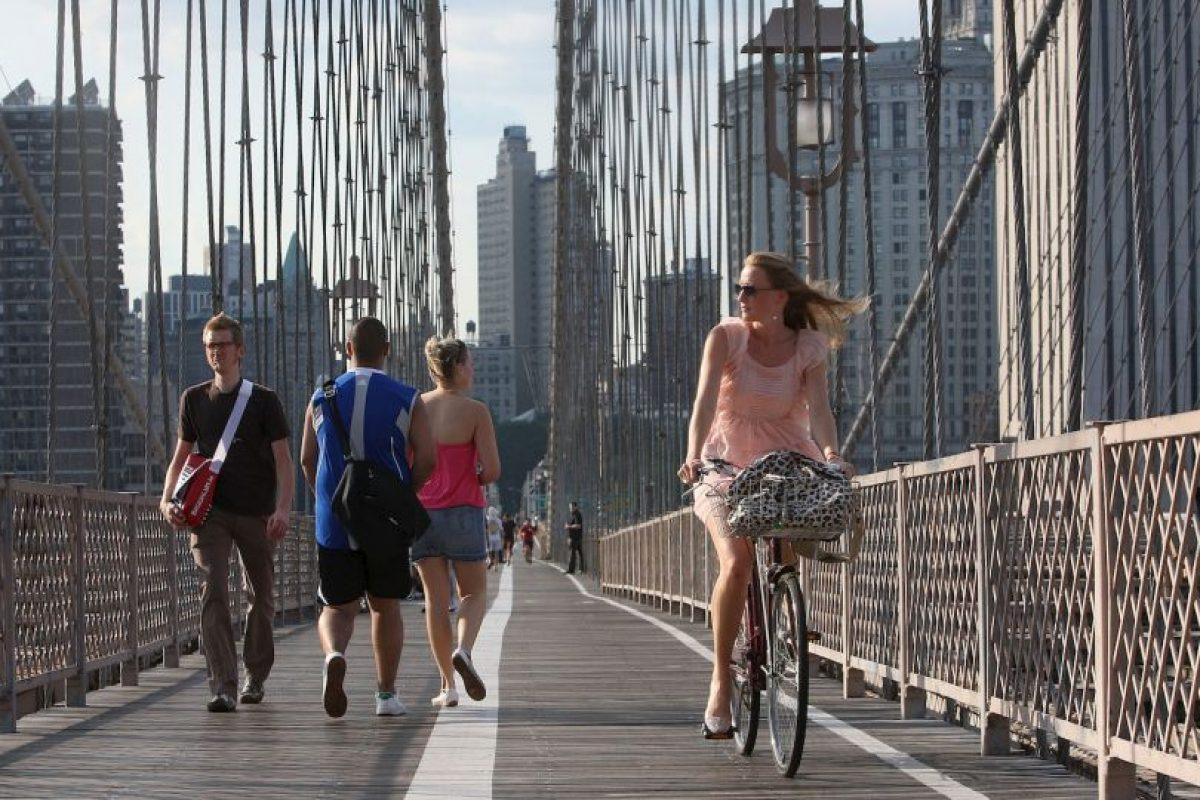 6. Cuando se hace un uso regular de la bicicleta, se obtienen mayores ventajas para la salud que si solo se practica deporte los fines de semana Foto:Getty Images. Imagen Por:
