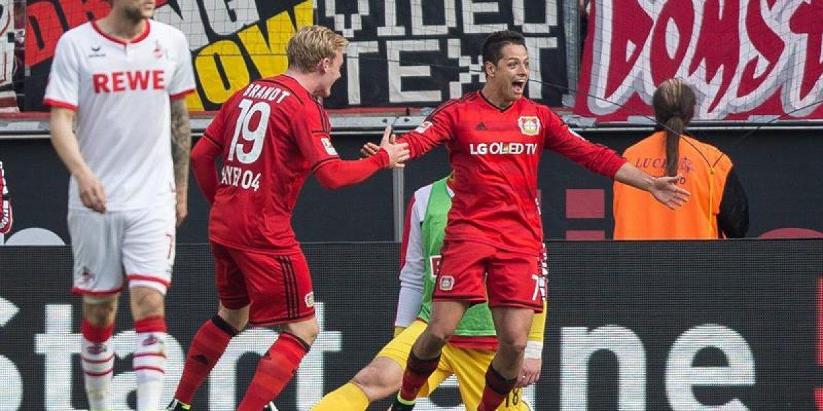 Charles Aránguiz sumó minutos en triunfo del Bayer Leverkusen sobre el Colonia