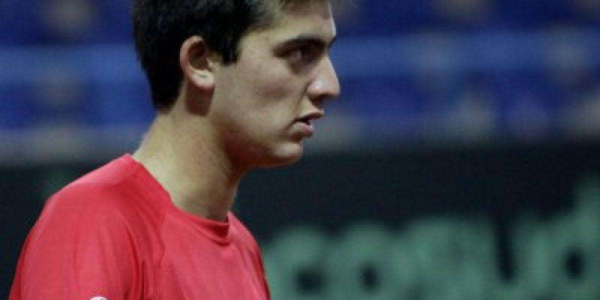 Tomás Barríos se quedó con el tercer lugar del Masters Junior