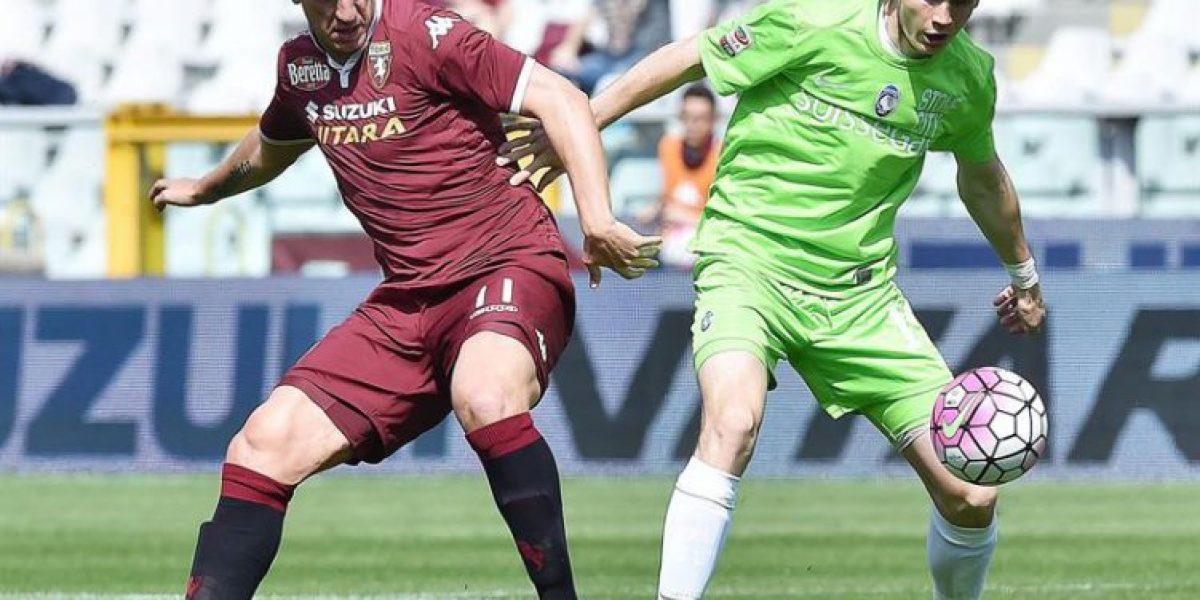 Cortó su racha goleadora: Pinilla fue titular en derrota de Atalanta frente a Torino