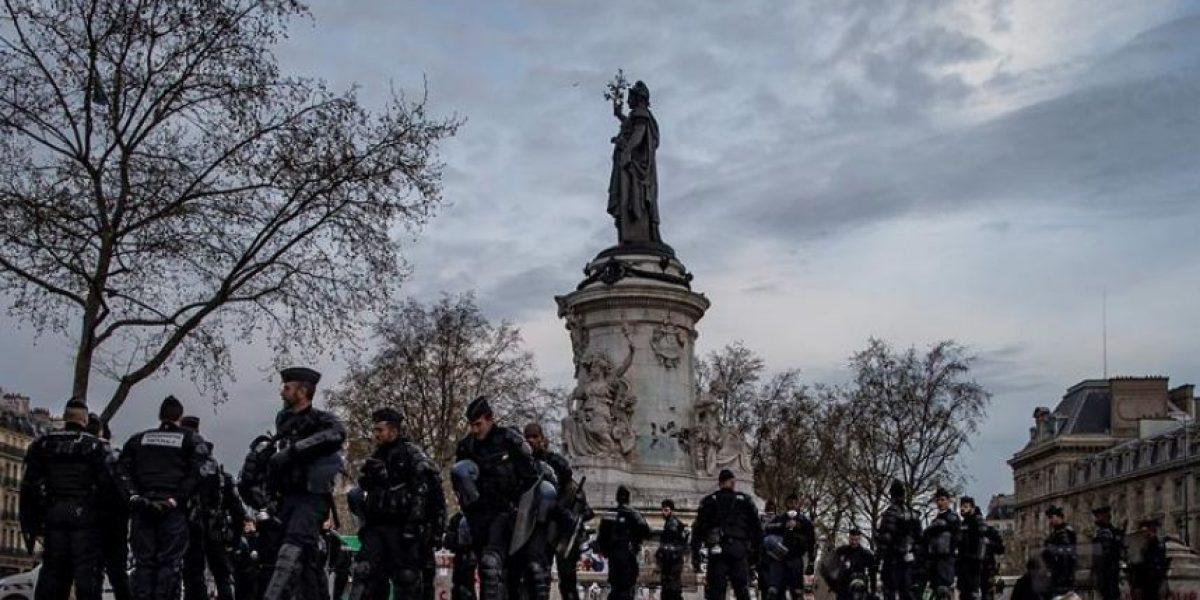 Evacuan a los indignados de París y anuncian medidas