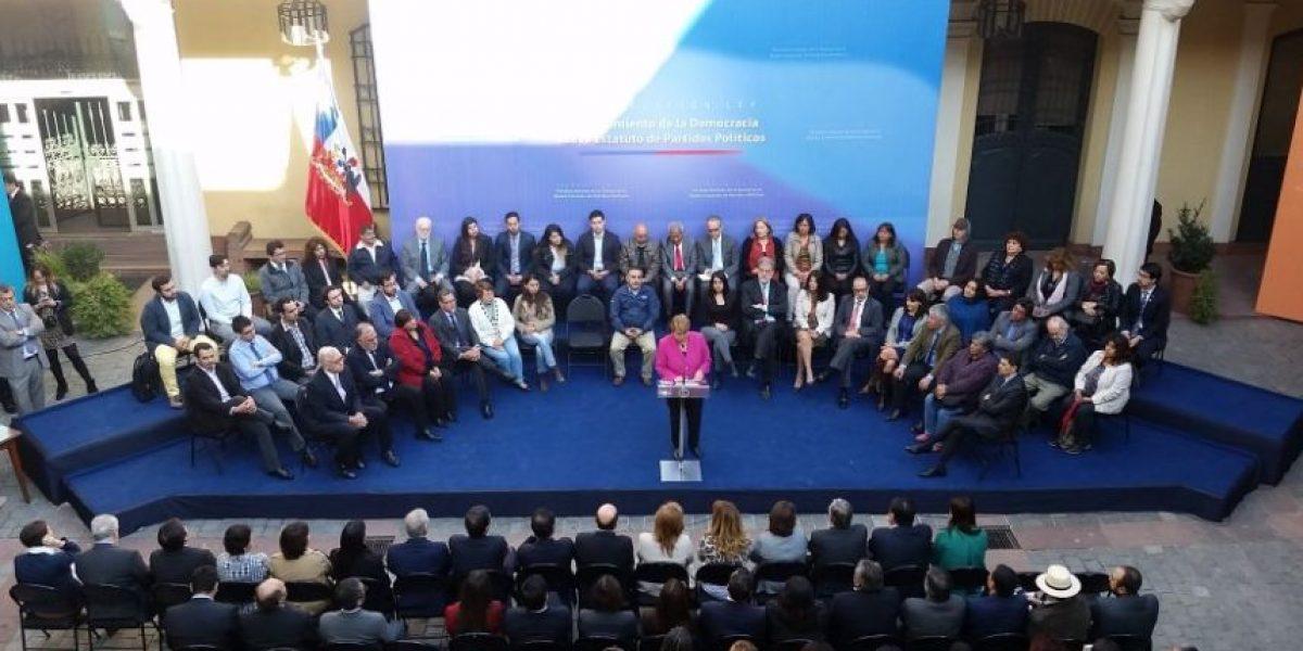 Bachelet y ley de financiamiento de campañas: