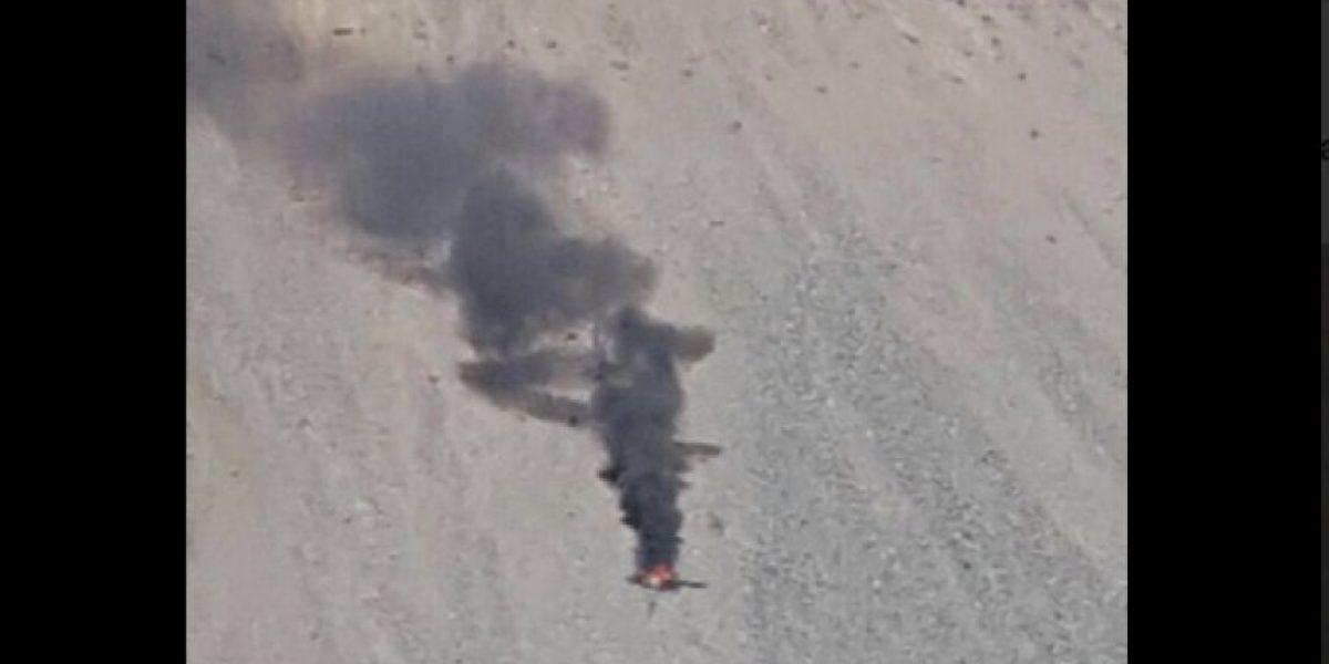 Helicóptero capotó en operación de rescate de funcionario en Minera Los Bronces