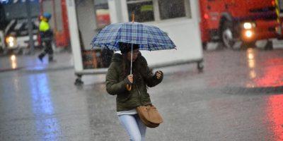 Anuncian lluvias y fuertes vientos para la zona centro del país desde este viernes