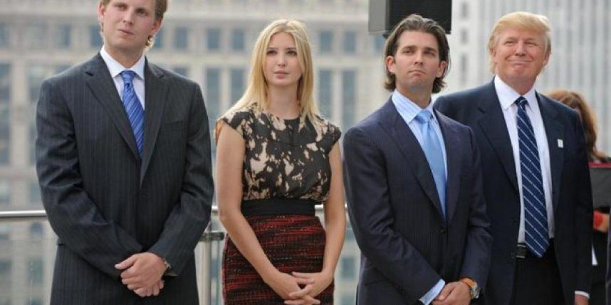 Donald Trump se queda sin el voto de dos de sus hijos