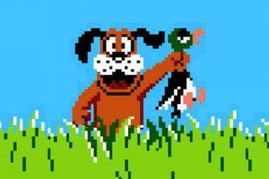 """En dicho juego, tenían que """"cazar"""" patos. Foto:Nintendo. Imagen Por:"""