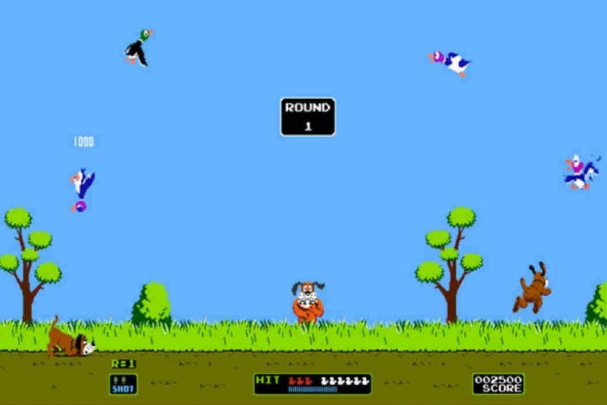 """El juego """"Duck Hunt"""" salió al mercado en 1984 en Japón. Foto:Tumblr. Imagen Por:"""