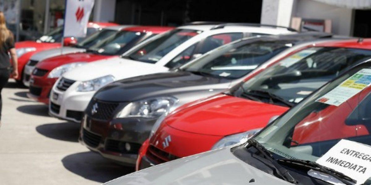 Ventas de autos crece 10,2% en el primer trimestre