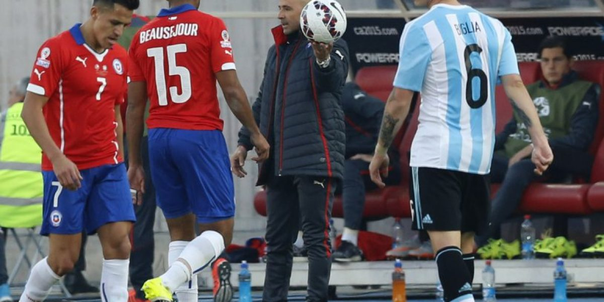 Jorge Sampaoli no olvida la Copa América: