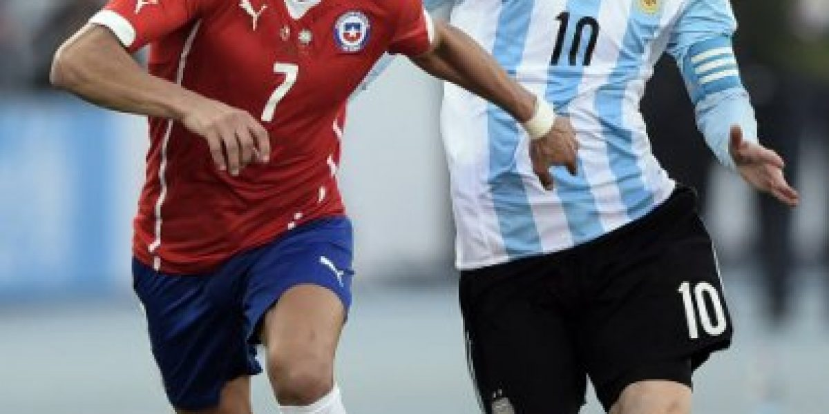 Video: Alexis Sánchez se luce en comercial que lo enfrenta a Lionel Messi