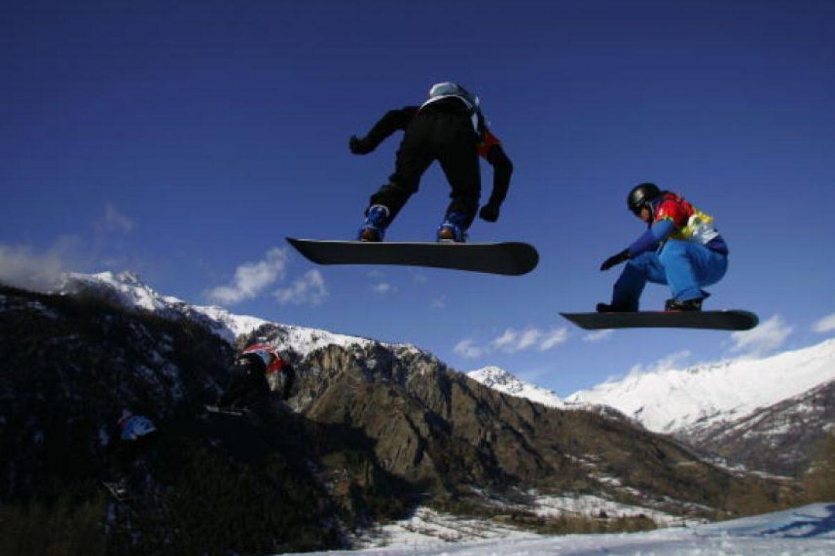 Lo que deben saber antes de practicar snowboard Foto:Getty Images. Imagen Por: